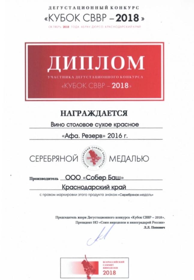 Кубок СВВР-2018