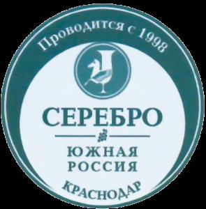 Серебряная медаль на дегустационном конкурсе Vinorus «Южная Россия - 2018»