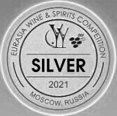 Серебряная медаль на Eurasia Wine Spirits Competition-2021